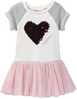 Juicy Couture Heart Sweatshirt Dress (Toddler Girls)