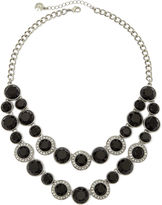 JCPenney MONET JEWELRY Monet Multicolor Crystal Silver-Tone Statement Necklace