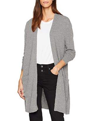Esprit Women's 108ee1i021 Cardigan, (Medium Grey 5 039)