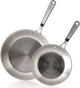 Calphalon Simply 2-pc. 8 & 10 Stainless Steel Omelette Pan Set