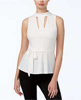 GUESS Tiana Cutout Peplum Top