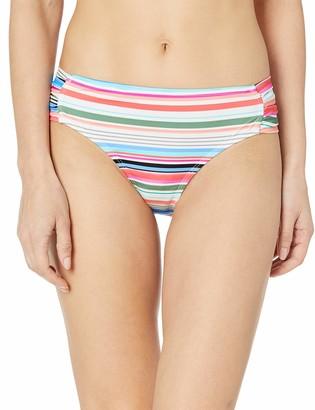 Athena Women's Double Side Tab Swimsuit Bikini Bottom