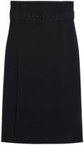 Tibi Twill Skirt