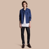 Burberry Linen Workwear Jacket