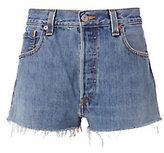 RE/DONE Clean Denim Cut Off Shorts