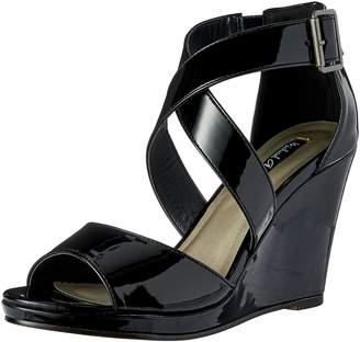 Michael Antonio Women's Amis-pat Wedge Sandal
