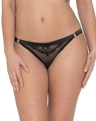 Curvy Kate Scantilly By Scantilly Surrender Peep Hole Brief