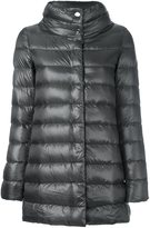 Herno stand collar padded jacket - women - Cotton/Feather Down/Polyamide/Acetate - 38