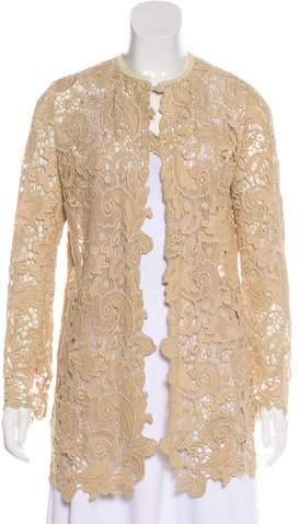 Ralph Lauren Black Label Crochet Lace Jacket