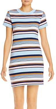 French Connection Byatt Striped Tee Dress