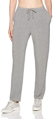 Majestic Filatures Women's French Terry Tapered Pants W/tie Waist