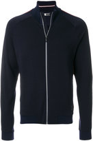 Ermenegildo Zegna funnel neck zipped cardigan