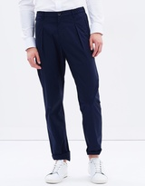 Armani Collezioni Light Stretch Poplin Trousers