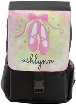 Personalized Planet Backpacks - Ballet Slippers Personalized Backpack