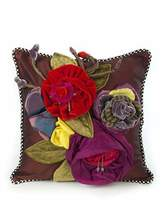 Mackenzie Childs MacKenzie-Childs Botanic Large Square Pillow