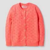 Cat & Jack Toddler Girls' Cardigan Cat & Jack - Sunrise Coral