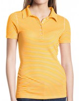 Agave Denim Agave Nectar Cruise Polo Shirt - Pique Cotton Blend, Short Sleeve (For Women)