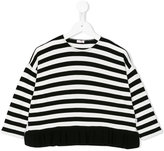 Il Gufo striped top - kids - Polyester/Viscose - 2 yrs