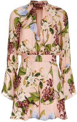 Nicholas Pink Silk Jumpsuit for Women