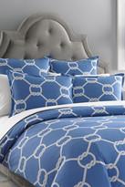 Jonathan Adler Southampton Blue Duvet - Full/Queen