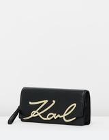 Karl Lagerfeld K/Metal Signature Clutch