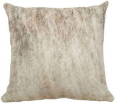 Saddlemans Full-Panel Hide Pillow, Light Brine