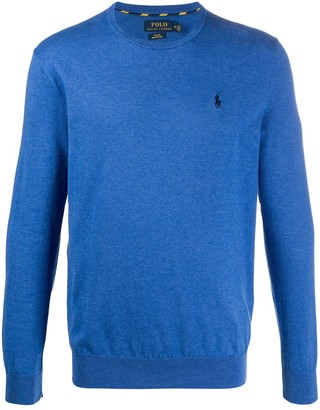 Polo Ralph Lauren Logo-Embroidered Crew Neck Jumper