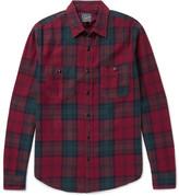 J.Crew Plaid Cotton-flannel Shirt