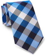 Tommy Hilfiger Silk Multi-Sized Gingham Tie