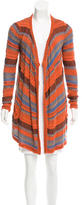 Etro Knit Long-Line Cardigan