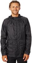 Swell Chosen Mens Shell Jacket Black