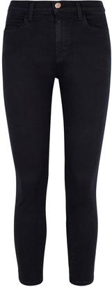 J Brand Alana Indigo Cropped Skinny Jeans