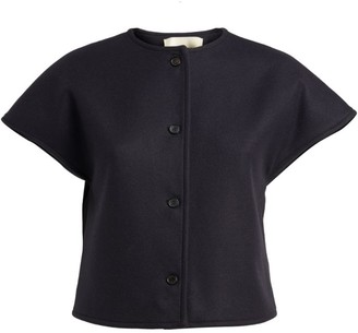 MARK KENLY DOMINO TAN Telma Short-Sleeved Cropped Jacket