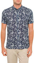 Ted Baker SS LEAVE PRINTED SHIRT