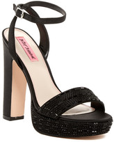 Betsey Johnson Alliie Ankle Strap Heel