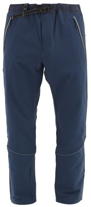 and wander Belted Technical Trousers - Navy