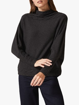 Phase Eight Corine Cable Knit Detail Jumper