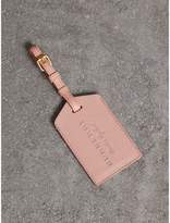 Burberry Grainy Leather Luggage Tag