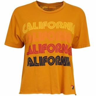 Aviator Nation California Yellow T Shirt - M