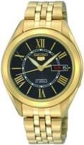 Seiko SNKL40 Men's Wrist Watches, Automatic Gold Dress