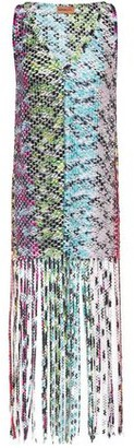 Missoni Mare Fringed Crocheted Coverup