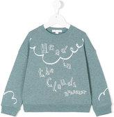 Burberry Clemy sweatshirt - kids - Cotton - 4 yrs