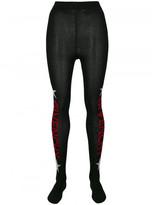 Givenchy logo print tights