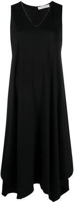 Fabiana Filippi V-neck midi dress