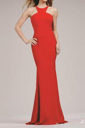 Jovani Timeless High-Neck Gown
