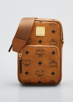 MCM Visetos Mini Crossbody Bag