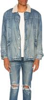 Stampd Fleece Lined Denim Jacket