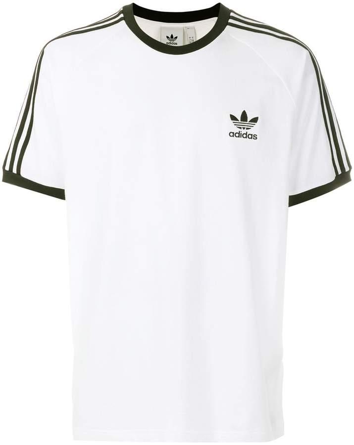 adidas signature stripe T-shirt