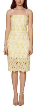Betsey Johnson Two-Tone Lace Bodycon Dress