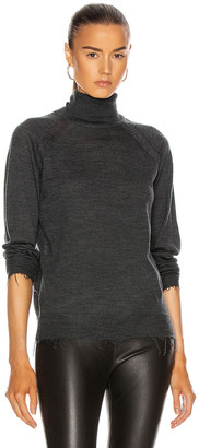 Acne Studios Kamala Sweater in Dark Grey | FWRD